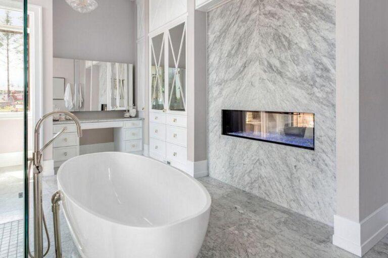 Jak zastąpić płytki w łazience?